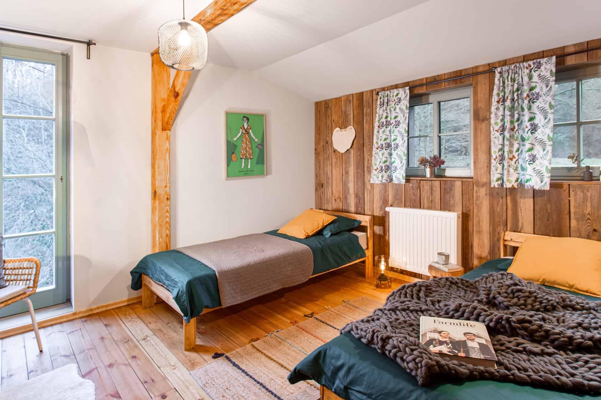 Pokój nr 4 Leśny - Młyn Tomaryny